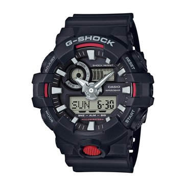 Casio Men's G-Shock Analog Digital Black Watch, 55mm