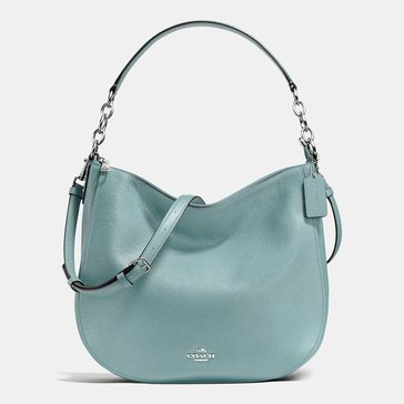 Coach Pebble Chelsea 32 Hobo Cloud