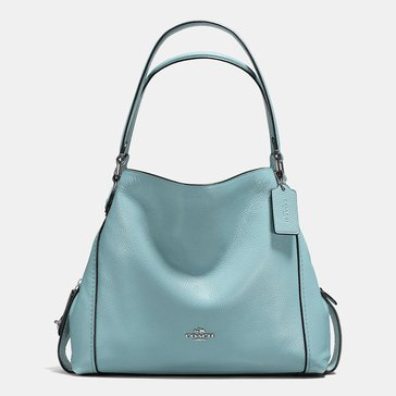 Coach Pebble Edie 31 Hobo Cloud