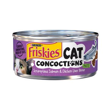 Friskies Salmon Cat Concoctions 5.5 oz.