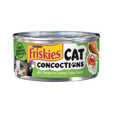Friskies Cat Concoctions Chicken Dinner Cat Food 5.5 oz.