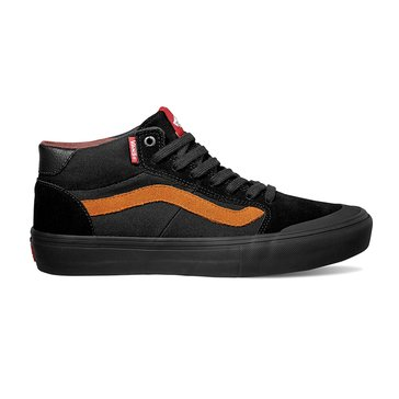 Vans Style 112 Mid Pro Men's Skate Shoe - Black / Glazed Ginger