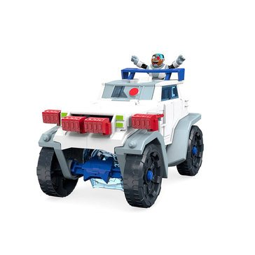 Imaginext Teen Titans Cyborg & Transforming Battle Rig