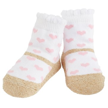 Mud Pie Princess Glitter Sock Set