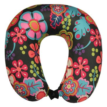 Lily Bloom Wildwood Memory Foam Neck Pillow - Eggplant