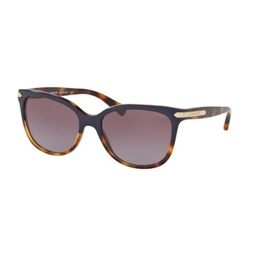 Coach Women's Sunglasses HC8132, Purple Tortoise/ Purple Gradient 57mm