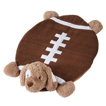 Mud Pie Football Puppy Playmat