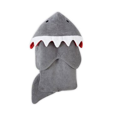 Mud Pie Shark Hooded Towl