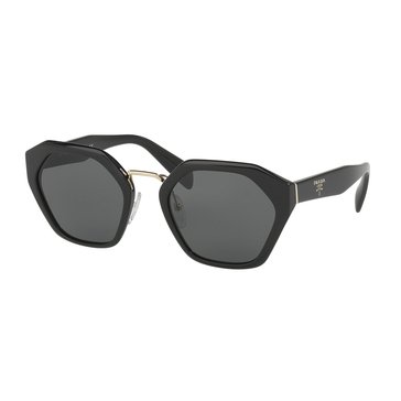 Prada Women's Sunglasses PR 04TS, Black/ Grey 55mm