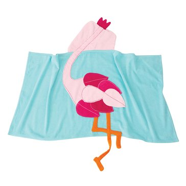 Mud Pie Flamingo Hooded Towel