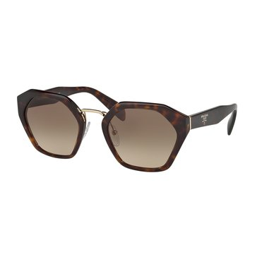Prada Women's Sunglasses PR 04TS, Havana/ Brown Gradient 55mm