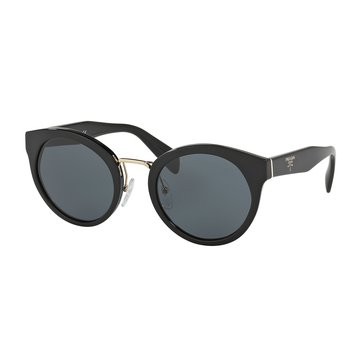 Prada Women's Sunglasses PR 05TS, Black/ Grey 53mm