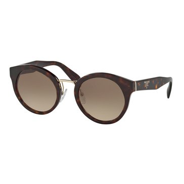 Prada Women's Sunglasses PR 05TS, Havana/ Brown Gradient 53mm