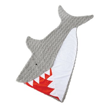 Mud Pie Blanket, Shark