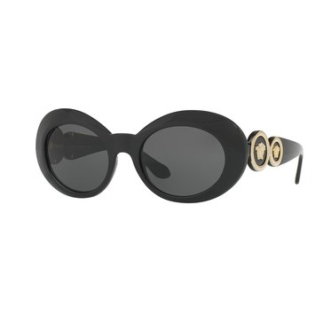 Versace Women's Sunglasses VE4329, Black/ Grey 53mm
