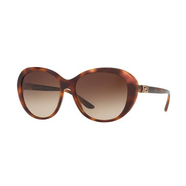Versace Women's Sunglasses VE4324B, Havana/ Brown Gradient 57mm