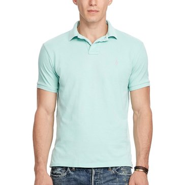 Polo Ralph Lauren Men's Classic Fit Weathered Mesh Polo Shirt