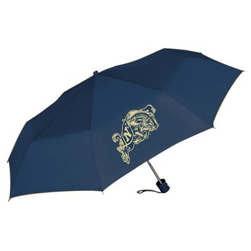 USNA SUPER MINI UMBRELLA NAVY GOAT IMPRINT NAVY BLUE