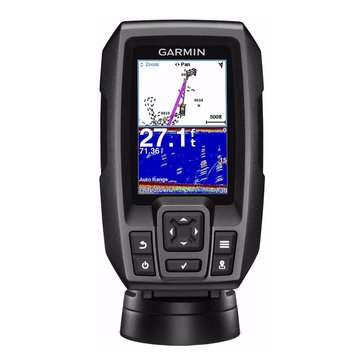 Garmin Striker 4 Fish Finder with Dual Beam Transducer