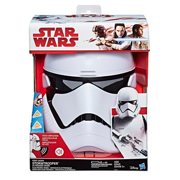 Star Wars E8 First Order Storm Trooper Electronic Mask