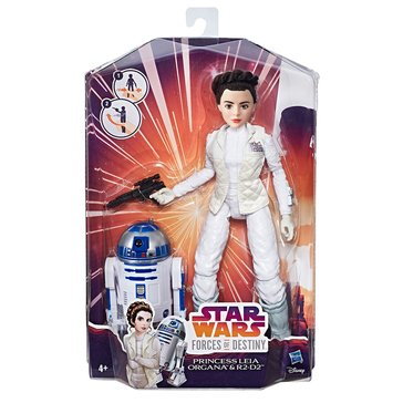 Star Wars Forces of Destiny Princess Leia Organa and R2-D2 Adventure Set