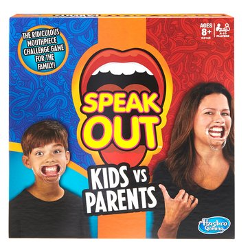 Speak Out Kids Vs Parents Game