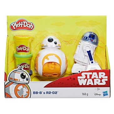 Play-Doh Star Wars BB8 and R2D2