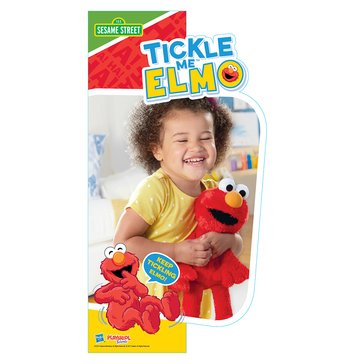 Playskool Sesame Street Tickle 'til He Hiccups Elmo