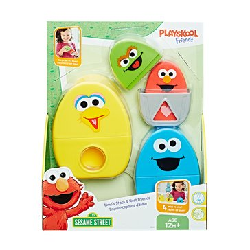 Playskool Sesame Street Elmo's Stack And Nest Friends