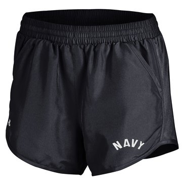 Under Armour Woman's USN Run Shorts - Black