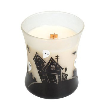 Woodwick Vanilla Bean 10 oz Haunted House Scene Candle