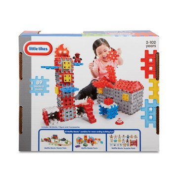 Waffle Blocks Fire & Rescue Playset