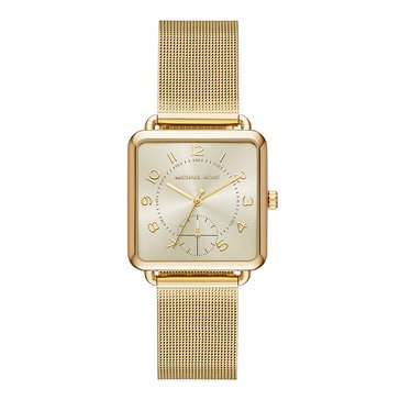 Michael Kors Women's Brenner Watch, Gold Mesh 31mm