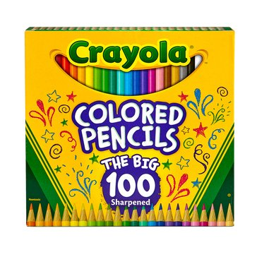 Crayola Colored Pencils, 100-Count