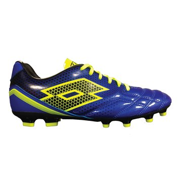 Lotto Spider 700 XIII FGT Men's Soccer Cleats - Blue / Green