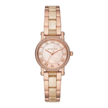 Michael Kors Women's Petite Norie Watch, Champagne/ Rose Gold 28mm