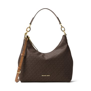 Michael Kors Isabella Medium Convertible Shoulder Signature Brown