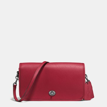 Coach Glovetan Turnlock Crossbody Cherry