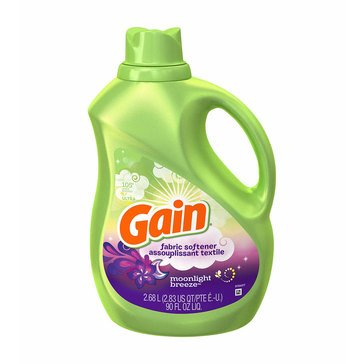 Gain Moonlight Breeze Liquid Fabric Softener, 90oz