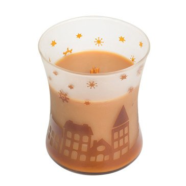 Woodwick Church Hot Toddy Scenic Hourglass Candle
