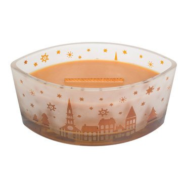 Woodwick Church Hot Toddy Scenic Ellipse Candle