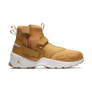 Jordan Trunner LX High Men's Basketball Shoe - Golden Harvest / Golden Harvest / Summit White / Gum Yellow