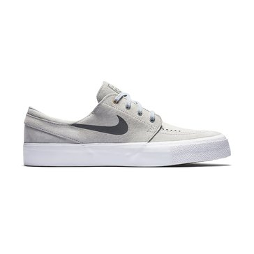 Nike SB Zoom Stefan Janoski HT Men's Skate Shoe - Wolf Grey / Dark Grey / Metallic Gold / White
