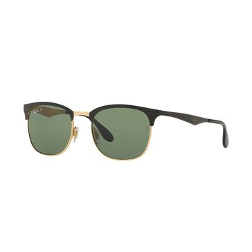 Ray-Ban Unisex Polarized Sunglasses RB3538, Black/ Green Classic G-15 53mm