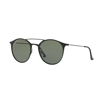 Ray-Ban Unisex Polarized Sunglasses RB3546, Black/ Green Classic G-15 52mm