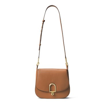 Michael Kors Delfina Large Saddle Bag Acorn