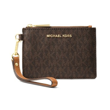 Michael Kors Mercer Small Coin Purse Signature Brown