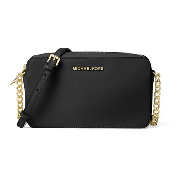 Michael Kors Jet Set Travel Medium East West Crossbody Black