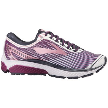 Brooks Ghost 10 LE Women's Running Shoe - White / Purple / Rose