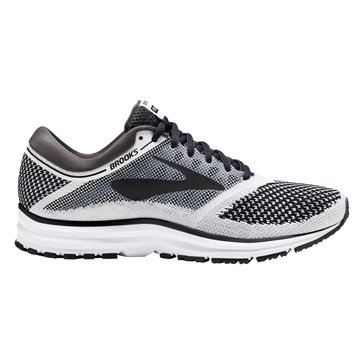 Brooks 155 Women's Running Shoe - Revel White / Anthracite / Black